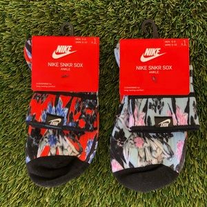 Women's Nike SNKR Sox 2pack Ankle Medium size